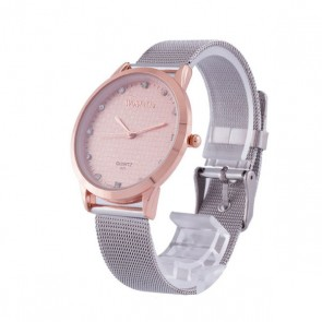 Ceas Dama Quartz WoMaGe Pink