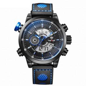 Ceas WEIDE Quartz Casual Sport Albastru WH3401B-8C