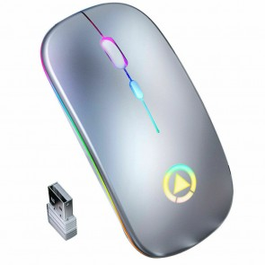 Mouse modern minimal design 6021MOU-argintiu