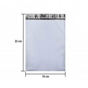 Set 100 Pungi tip plic pentru curierat autoadezive 16x22 cm