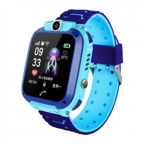 Ceas Sport Fitness Tracker Smartwatch Kids Q12-albastru