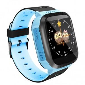 Ceas Sport Fitness Tracker Smartwatch Kids Q02-albastru