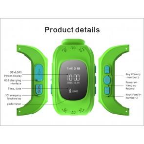 Ceas Sport Fitness Tracker Smartwatch Kids Q50-verde