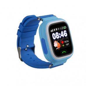 Ceas Sport Fitness Tracker Smartwatch Kids Q90S-albastru