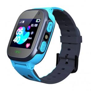 Ceas Sport Fitness Tracker Smartwatch Kids Q15-albastru