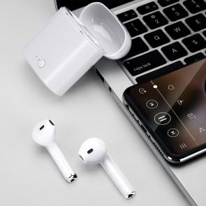 Casti Bluetooth 5.0 compatibil Android 14001CST-alb