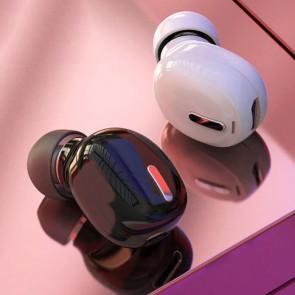 Mini Casca Sport Bluetooth WiFi Microfon 14002CST-alb