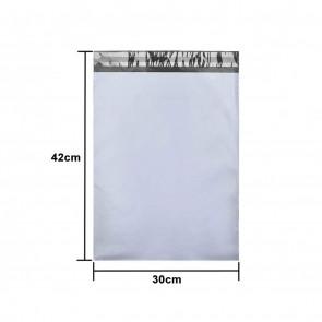 Set 100 Pungi tip plic pentru curierat autoadezive 30x42 cm