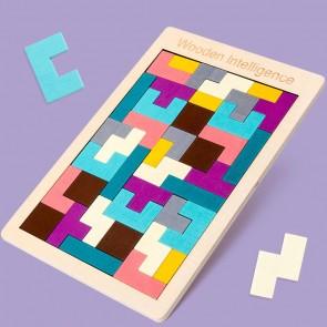 Puzzle Tetris lemn eSelect