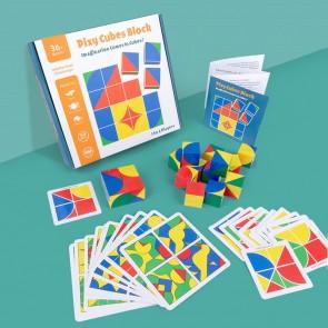 Set Montessori puzzle potrivire forme si culori eSelect