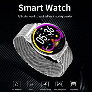 Ceas Sport Fitness Tracker Smartwatch K99-argintiu