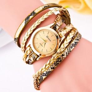 Ceas Dama Quartz Geneva Exotic-gold