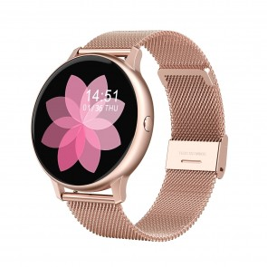 Ceas Sport Fitness Tracker Smartwatch DT88-rose