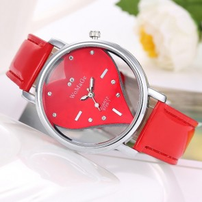 Ceas Dama Quartz Red Heart