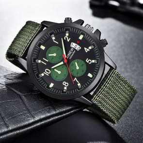 Ceas Quartz XINEW Green Army