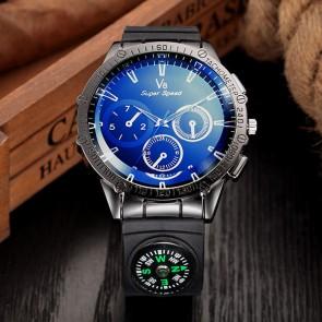 Ceas Quartz V8 Blue North
