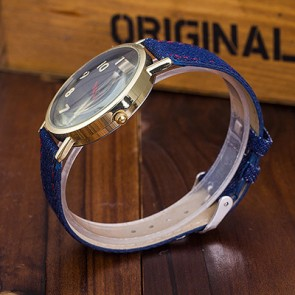 Ceas Dama Quartz Geneva Denim