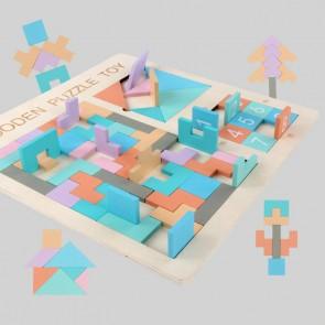 Set puzzle lemn eSelect