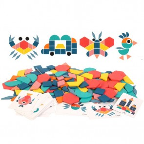 Puzzle lemn Montessori eSelect