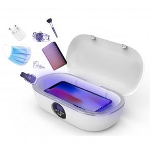 Aparat de dezinfectare si sterilizare cu lumina UVC + UVA 260-270nm+360-370nm pentru telefon si alte obiecte 4015UVC