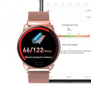 Ceas Sport Fitness Tracker Smartwatch K99-rose