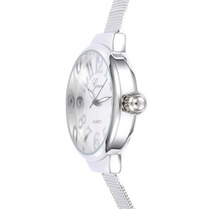Ceas Dama Quartz Geneva Big Fancy