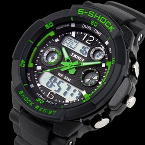 Ceas Quartz S-Shock DualTime