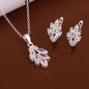 Set Silver Leaf