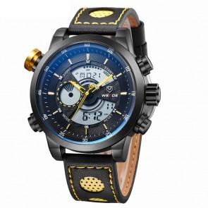 Ceas WEIDE Quartz Casual Sport Galben WH3401B-7C