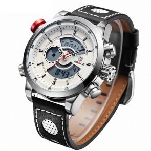 Ceas WEIDE Quartz Casual Sport Alb WH3401-4C