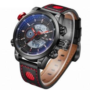 Ceas WEIDE Quartz Casual Sport Rosu WH3401B-6C