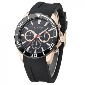 Ceas Quartz Curren Black Gold