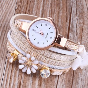 Ceas Dama Quartz Flower