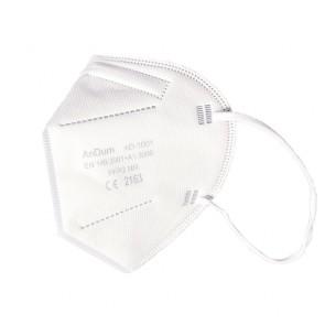 Set 10 bucati Masca protectie FFP2 / N95 cu filtrare PFE ≥ 95% Certificata CE