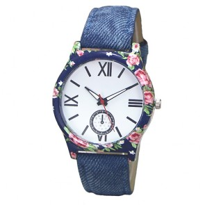 Ceas Dama Quartz Blossom Denim