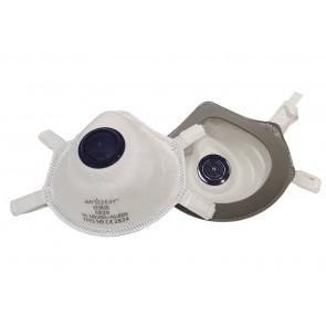 Set 5 bucati Masca protectie conica FFP3 cu Valva respiratorie si filtrare ≥ 99% Certificata CE, Anstar