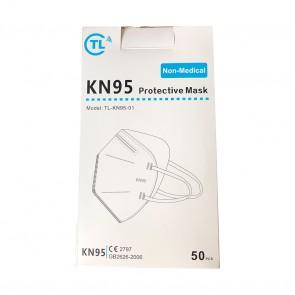 Set 50 bucati Masca de protectie KN95 Certificata CE 2797