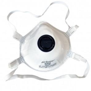 Set 20 bucati Masca protectie conica FFP3 cu Valva respiratorie si filtrare ≥ 99% Certificata CE, Anstar