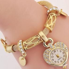 Ceas Dama Quartz Lucky Charm-gold