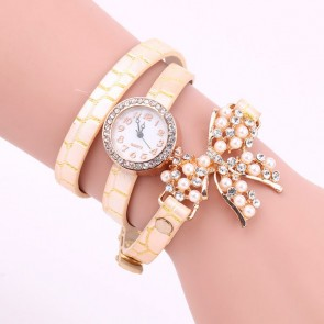 Ceas Dama Quartz Pearly Bow