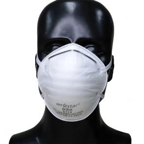 Set 25 bucati Masca protectie conica FFP2 cu filtrare BFE ≥ 95% Certificata CE, Anstar