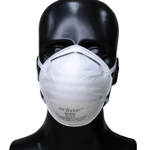 Set 10 bucati Masca protectie conica FFP2 cu filtrare BFE ≥ 95% Certificata CE, Anstar