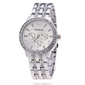 Ceas Dama Quartz Geneva Crystal Select