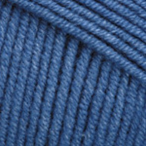 Fir Textil YarnArt Jeans 16, pentru tricotat si crosetat, bumbac si poliacril, Albastru, 50 gr