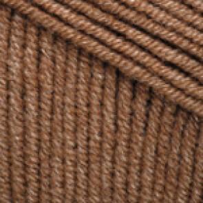Fir Textil YarnArt Jeans 40, pentru tricotat si crosetat, bumbac si poliacril, Maro, 50 gr