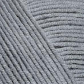 Fir Textil YarnArt Jeans 46, pentru tricotat si crosetat, bumbac si poliacril, Gri, 50 gr