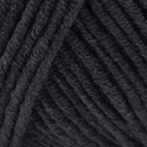 Fir Textil YarnArt Jeans 53, pentru tricotat si crosetat, bumbac si poliacril, Negru, 50 gr