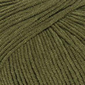 Fir Textil YarnArt Jeans 82, pentru tricotat si crosetat, bumbac si poliacril, Verde, 50 gr