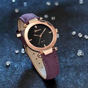 Ceas Dama Quartz Geneva Luscious Leather