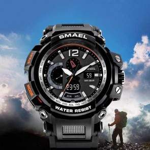 Ceas Sport Quartz DualTime Leader